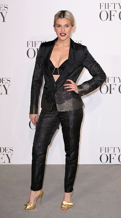 Feb 12, 2015 - 'Fifty Shades of Grey' UK Premiere - Red Carpet Arrivals at Odeon, Leicester Square<br /> <br /> Pictured: Ashley Roberts<br /> ©Exclusivepix Media