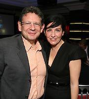 Lucian Grainge Chairman and CEO of UMI and Sharleen Spiteri