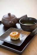 Japanese tea at the Umami Caf&eacute;, The Portland Japanese Garden.<br /> <br /> Photo by Christina Sjogren
