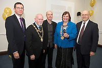 01/12/2014 Repro free  UNESCO Director-General, Ms Irina Bokova, announced from Paris &nbsp;&nbsp;that Galway has been designated a UNESCO City Of Film. Under the UNESCO Creative City&rsquo;s network, Galway is now one of only five cities in the world to &nbsp;achieve this much sought-after status.  This is a &nbsp;permanent global designation. This status brings &nbsp;the highest internationally &nbsp;recognised standard of excellence in &nbsp;the creative industries to Galway. The title of Creative City of Film also includes membership of UNESCO&rsquo;s Creative City&rsquo;s Network.<br /> At the celebrations at the Galway Film Centre were <br />  . Photo:Andrew Downes