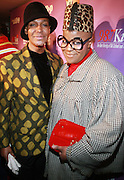 l to r: Dwight Ebanks and Malik So Chic at the Celebration for the Finale episode of the VH1 hit reality show ' Let's talk about Pep held at the Comix Club on March 1, 2010 in New York City.