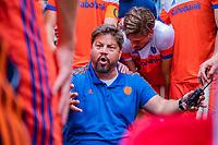 Den Bosch  - bondscoach Max Caldas (Ned)  na   de Pro League hockeywedstrijd heren, Nederland-Belgie (4-3).    COPYRIGHT KOEN SUYK