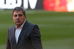 October 8, 2017 - Lisbon, Lisbon, Portugal - FPF's President Fernando Gomes during National Team Training session before the match between Portugal and Switzerland at Luz Stadium in Lisbon on October 8, 2017. (Credit Image: © Dpi/NurPhoto via ZUMA Press)