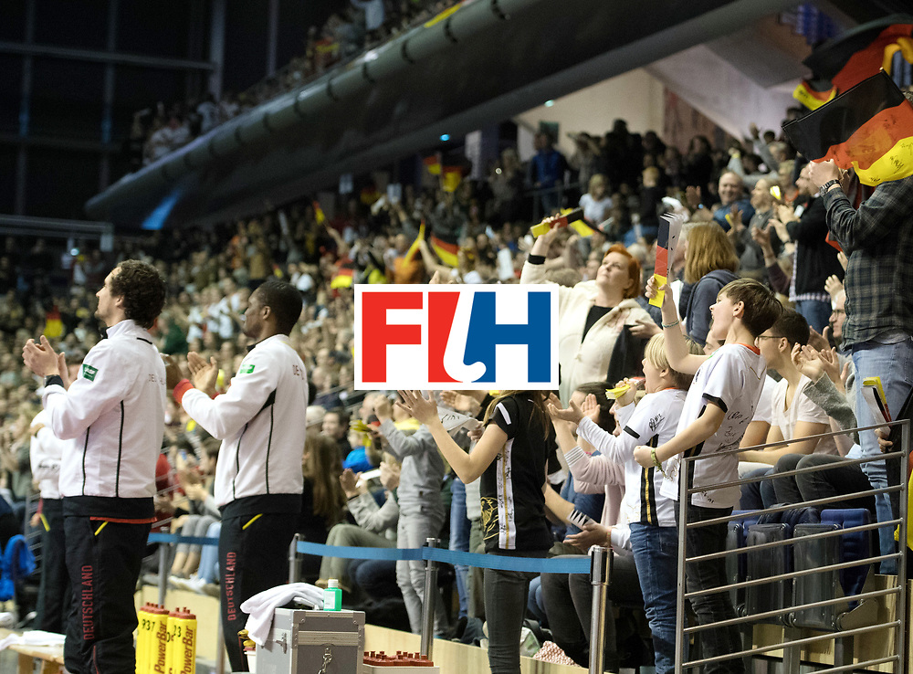 BERLIN - Indoor Hockey World Cup<br /> SF1 Germany - Iran<br /> foto: <br /> WORLDSPORTPICS COPYRIGHT FRANK UIJLENBROEK