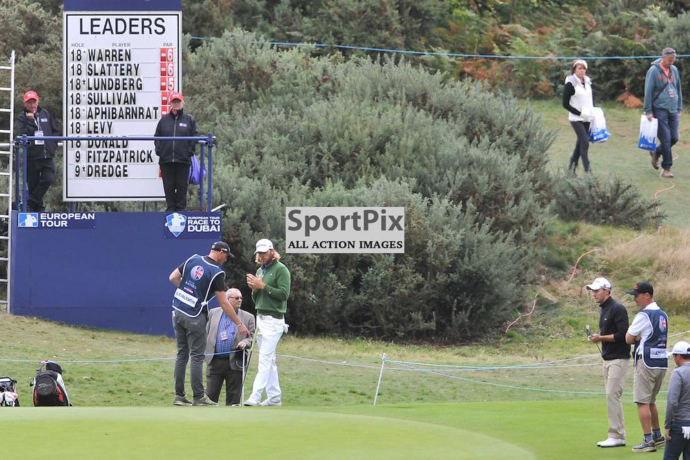 Magnus A Carlsson Sweden, British Masters, European Tour, Woburn Golf Course Friday 9th