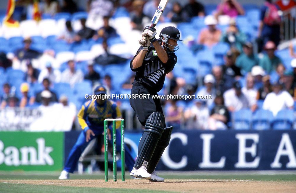 New Zealand Blackcaps v Sri Lanka at Eden Park, Auckland. Sri Lanka's tour to New Zealand, third ODI. Tuesday 6 Feburary 2001. Photo: Andrew Cornaga/photosport