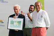 Reconocimiento al medidor de Vaurien Internacional por su trayectoria profesional Ugo Zappi.