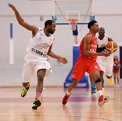 Bryquis Perine of Bristol Flyers - Photo mandatory by-line: Alex James/JMP - Mobile: 07966 386802 - 28/03/2015 - SPORT - Basketball - Bristol - SGS Wise Campus - Bristol Flyers v London Lions - British Basketball League