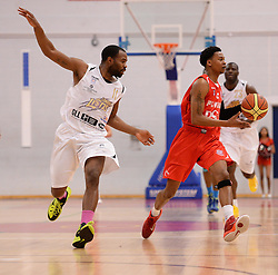 Bryquis Perine of Bristol Flyers - Photo mandatory by-line: Alex James/JMP - Mobile: 07966 386802 - 28/03/2015 - SPORT - Basketball - Bristol - SGS Wise Campus - Bristol Flyers v London Lions - British Basketball League