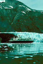 AK: Glacier Bay National Park, Alaska, Margerie Glacier    .Photo Copyright: Lee Foster, lee@fostertravel.com, www.fostertravel.com, (510) 549-2202.Image: akglac216