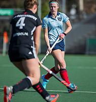 AMSTELVEEN -   Joelle Ketting (Lar)   tijdens   de oefenwedstrijd tussen Amsterdam en Laren dames   COPYRIGHT KOEN SUYK
