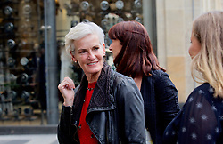 Judy Murray arriving at the new Ivy restaurant launch party in Buchanan St, Glasgow. Pic copyright Terry Murden @edinburghelitemedia