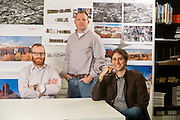 Environmental portrait at Modus Architectural Studios in Fayetteville, Ark.