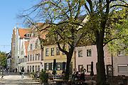 Hohe-Schul-Straße, Altstadt, Ingolstadt, Bayern, Deutschland | Hohe-Schul-Straße, old town, Ingolstadt, Bavaria, Germany