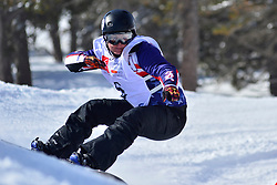 Europa Cup Finals Banked Slalom, DUCE Heidi Jo, USA at the 2016 IPC Snowboard Europa Cup Finals and World Cup