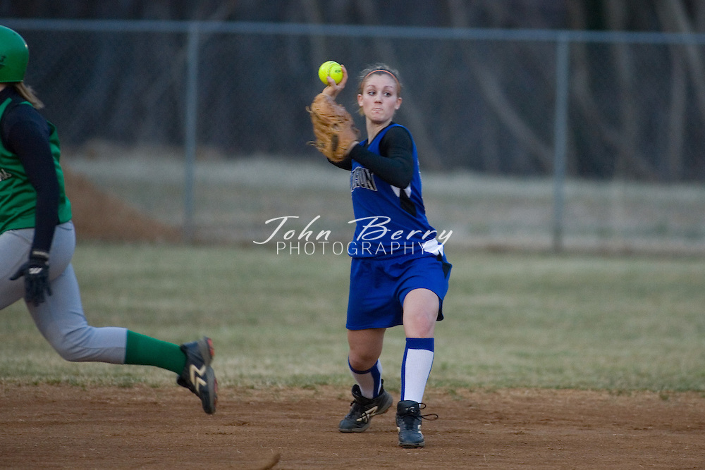 MCHS Varsity Softball .vs Greene.March 14, 2007