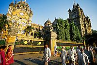 Victoria Terminus (railroad station), Mumbai (Bombay), Maharashtra, India