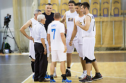 Janez Drvaric during football and basketball charity event All Legends by Olimpiki, on June 9, 2015 in Hala Tivoli, Ljubljana, Slovenia. Photo by Vid Ponikvar / Sportida