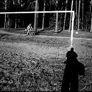 SELF PORTRAITS / AUTORRETRATOS.Photography by Aaron Sosa.Jastrowie - Poland 2008.(Copyright © Aaron Sosa)