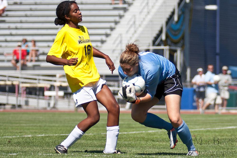 2010 September 05: Rowan University defeats Wilkes Universityat Richard Stockton College in Pomona, NJ 5-0.