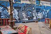 France, Saône-et-Loire (71), Chalon-sur-Saône, l'Abattoir, centre du festival de Chalon dans la Rue// France, Saône-et-Loire (71), Chalon-sur-Saône, l'Abattoir