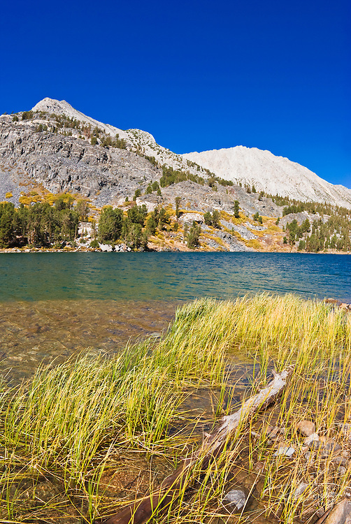 Long Lake under Mount Starr, John Muir Wilderness, Sierra Nevada Mountains, California