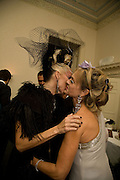 DAPHNE GUINNESS; MAYA VON SCHONBURG , Nicky Haslam party for Janet de Bottona nd to celebrate 25 years of his Design Company.  Parkstead House. Roehampton. London. 16 October 2008.  *** Local Caption *** -DO NOT ARCHIVE-© Copyright Photograph by Dafydd Jones. 248 Clapham Rd. London SW9 0PZ. Tel 0207 820 0771. www.dafjones.com.