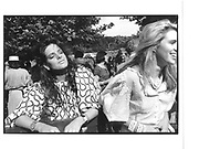 Trinny Woodall and Katy Braine at Henley, Oxford © Copyright Photograph by Dafydd Jones 66 Stockwell Park Rd. London SW9 0DA Tel 020 7733 0108 www.dafjones.com