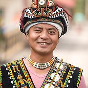 Paiwan Aboriginal Man, Pingtung, Taiwan