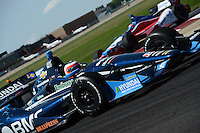 Rubens Barrichello, Edmonton Indy, Edmonton City Centre Airport, Edmonton, Alberta Canada 07/22/12