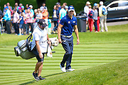 German golf professional Martin Kaymer  walks onto the 2nd green during the BMW PGA Championship at the Wentworth Club, Virginia Water, United Kingdom on 28 May 2016. Photo by Simon Davies.