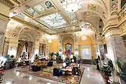 Lobby of the historic The Hermitage Hotel in Nashville, TN.