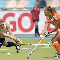 MONCHENGLADBACH - Junior World Cup<br /> Pool A: The Netherlands - USA<br /> photo: Georgia Holland.<br /> COPYRIGHT FRANK UIJLENBROEK FFU PRESS AGENCY