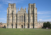 Wells cathedral, Somerset, England
