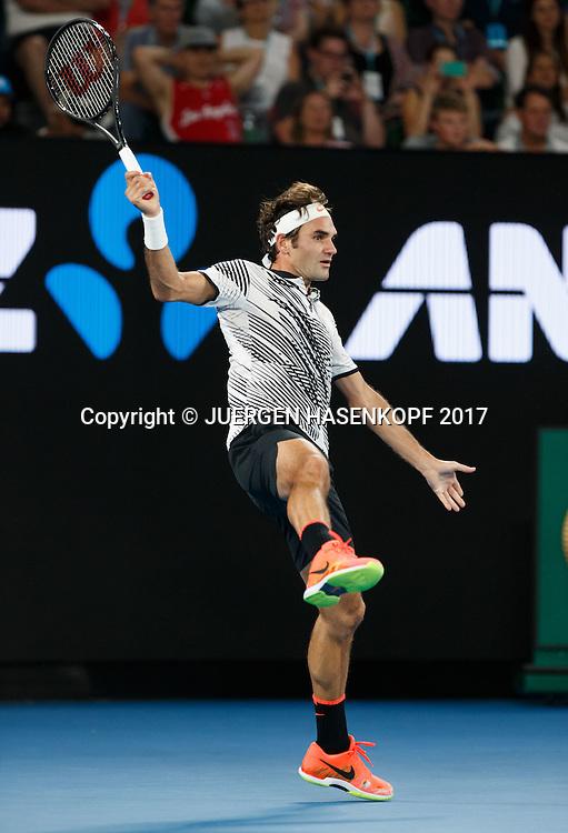 ROGER FEDERER (SUI)<br /> <br /> Australian Open 2017 -  Melbourne  Park - Melbourne - Victoria - Australia  - 22/01/2017.