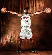 9/26/2008 Al Diaz / Miami Herald Staff -- The Miami Heat's media day at the American Airlines Arena.