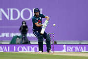 Joss Buttler of England playing the ramp shot during the second Royal London One Day International match between England and Pakistan at the Ageas Bowl, Southampton, United Kingdom on 11 May 2019.