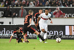 30.12.2015, Mercedes Benz Arena, Stuttgart, GER, 1. FBL, VfB Stuttgart vs Hamburger SV, 19. Runde, im Bild Zweikampf, Aktion Daniel Didavi VfB Stuttgart (rechts) gegen Lewis Holtby HSV HSV Hamburg Hamburger SV // during the German Bundesliga 19th round match between VfB Stuttgart and Hamburger SV at the Mercedes Benz Arena in Stuttgart, Germany on 2015/12/30. EXPA Pictures © 2016, PhotoCredit: EXPA/ Eibner-Pressefoto/ Weber<br /> <br /> *****ATTENTION - OUT of GER*****