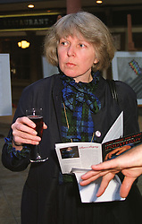 LADY HARRIET BLIGH at an exhibition in London on 22nd April 1999.MRH 33