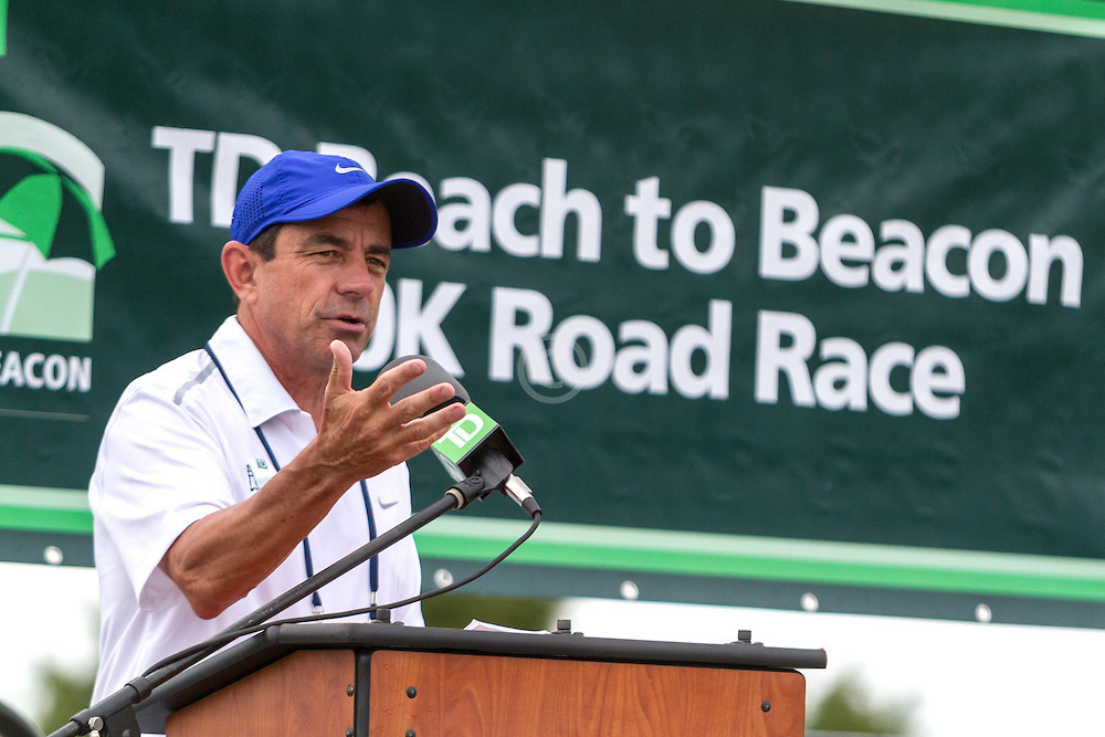 Beach to Beacon 10K road race: Dave McGillivray, race director