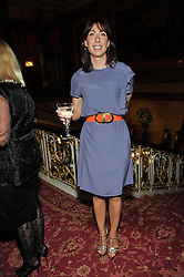 SAMANTHA CAMERON at a party to celebrate 300 years of Tatler magazine held at Lancaster House, London on 14th October 2009.