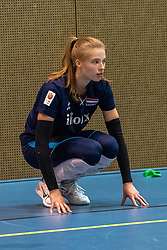 14-05-2019 NED: Training national volleyball team Women, Arnhem<br /> Dutch volleyball team women starts the training yesterday. There is a tough program ahead this summer. They starts with group matches of the VNL, then OKT in Catania in Italy, Worldcup in Japan and the European Championship played in Hungary / Rianne Vos of Netherlands