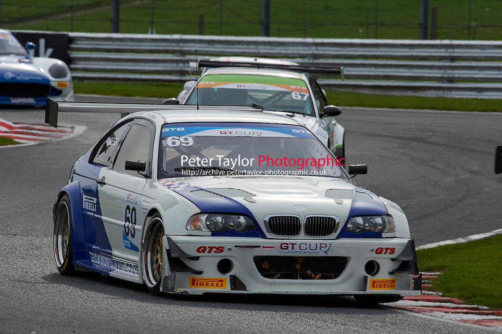 #69 Tom WEBB BMW E46 M3 GTR during GT Cup - Race 1 as part of the MSVR Oulton Park 10th October 2015 at Oulton Park, Little Budworth, Cheshire, United Kingdom. October 10 2015. World Copyright Taylor/PSP. Copy of publication required for printed pictures.  Every used picture is fee-liable. http://archive.petertaylor-photographic.co.uk