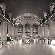 Grand Central Terminal in Black & White.