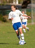 Girls Varsity Soccer Gilford versus Inter Lakes October 7, 2010.