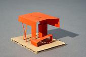 Maquettes d'étude architecturale