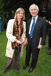 HUGO & ELIZABETH VICKERS at a reception for the Friends of The Castle of Mey held at The Goring Hotel, London on 20th May 2008.<br /><br />NON EXCLUSIVE - WORLD RIGHTS