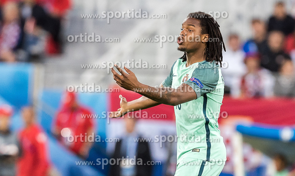 25.06.2016, Stade Bollaert Delelis, Lens, FRA, UEFA Euro 2016, Kroatien vs Portugal, Achtelfinale, im Bild Renato Sanches (POR) // Renato Sanches (POR) during round of 16 match between Croatia and Portugal of the UEFA EURO 2016 France at the Stade Bollaert Delelis in Lens, France on 2016/06/25. EXPA Pictures © 2016, PhotoCredit: EXPA/ JFK