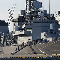 April 13,2017,Yokota US and Japan  MSDF   naval bases  16 Aegis  and two us  and japan aircraft carrier , Us Ronald Regan , And MSDF Kaga stationned  at Yokosuka port . japan  and  american  bases face  to the threat of  6 th nuclear test of DPRK regime, Us  president  sent an  armada near the border of North  Korea  to prevent or start a  war  as Trump and Kim Joug Eun said, Shinzo Abe PM also prepare to collaborate  with US forces  and  said there is  possibilities  that  balliistic missile  warehead, from North Korea , were equipped with sarin gas comparing to  recent  Syria  situation  . Pierre Boutier