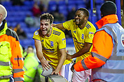 Goal Birmingham City forward Álvaro Giménez (24) scores a goal and celebrates 1-3 during the EFL Sky Bet Championship match between Reading and Birmingham City at the Madejski Stadium, Reading, England on 7 December 2019.
